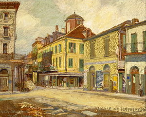 William Woodward (artist) - View of the Napoleon House in New Orleans, 1904