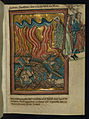 William de Brailes - Lot and his Family Flee Sodom (Genesis 19 -15-26) - Walters W1064R - Full Page.jpg