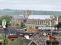 Winchester cathedral from Hampshire County Council HQ - taken in 2009.jpg