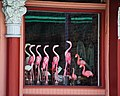 Window Flamingos at the Blue Heron (6208824725).jpg
