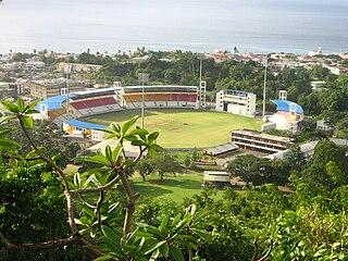 Windsor Park (Dominica) stadium in Dominica