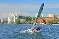 Windsurfing pe lacul Sutghiol.JPG