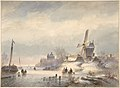 Winter Landscape with Frozen River MET DP800444.jpg