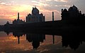 Winter Sunrise at Taj (Explore) (2234966100).jpg