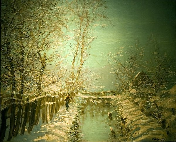 "Teli verofeny (""Winter Sunshine"") by Laszlo Mednyanszky Winter Sunshine.jpg"