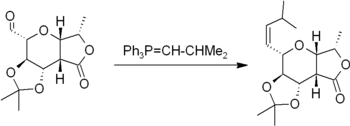 A typical example of the Wittig reaction