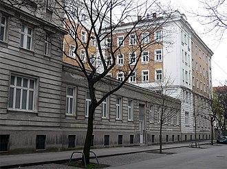 Meldemannstraße dormitory - Front view