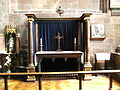 Wolverhampton St Peters - 17th century altar 01.jpg