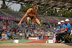 Women heptathlon LJ French Athletics Championships 2013 t144336.jpg