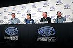 WonderCon 2016 - Houdini and Doyle panel - David Shore, David Titcher, David Hoselton & Michael Weston (25500375493).jpg