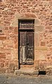 Wooden doors in Clairvaux-d'Aveyron 02.jpg