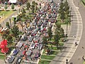 World Solar Challenge 2015-Parade at Victoria Sqare in Adelaide, Australia.JPG