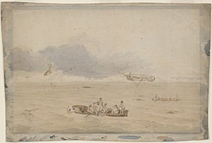 Cato (1800 ship) - Image: Wreck of the Porpoise
