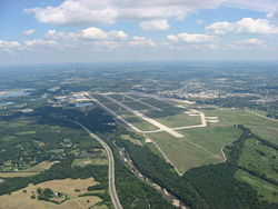 Most of Wright-Patterson Air Force Base is located in Bath Township