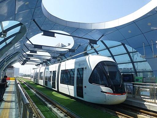 Wuhan - Guanngu Streetcar - Wudayuan - P1520430