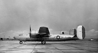 Consolidated B-32 Dominator - XB-32-CO 41-142 on 28 February 1944