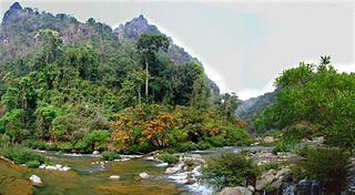 Xe Bang Fai River river in Laos