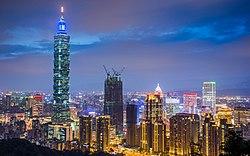 Xinyi Taipei 2016 panorama.jpg