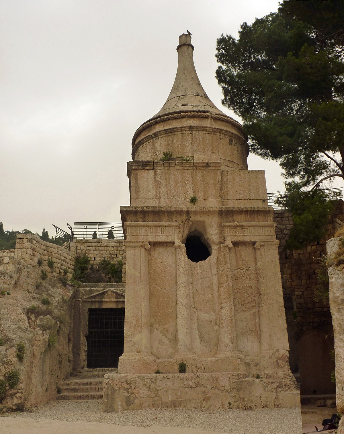 Tomb Of Absalom Wikipedia
