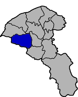 Location of Yangmei