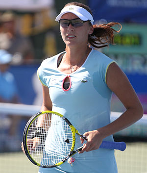 Yaroslava Shvedova - Shvedova at the 2011 Citi Open