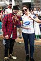 Yo Yo Honey Singh and Huma Quresh at Celebrity Cricket League 2014.jpg