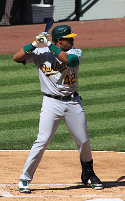 Yoenis Céspedes on April 15, 2012