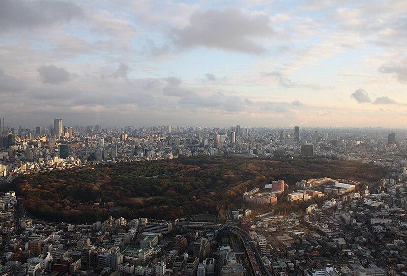 File:Yoyogi Park from Hyatt.jpg