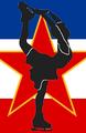 Yugoslavia SFR figure skater pictogram.png
