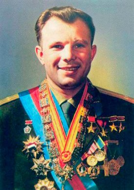 Yuri Gagarin with awards.jpg