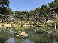 Yuyutei Pavilion and Rineiko Hill in Shukkei Garden 1.jpg