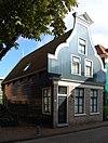 Houten woonhuis