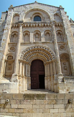 Zamora Cathedral - Puerta del Obispo (Bishop's Door).