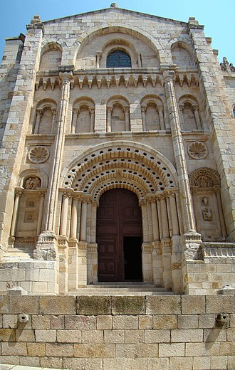 Zamora Cathedral - Puerta del Obispo (Bishop's Door).