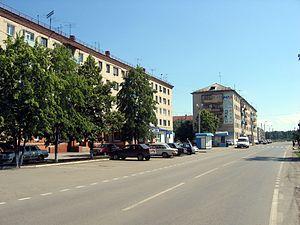 Zavodoukovsk - Selmash microdistrict in Zavodoukovsk