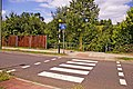 Zebra crossing over Atlas Road, Friern Park Trading Estate - geograph.org.uk - 892339.jpg