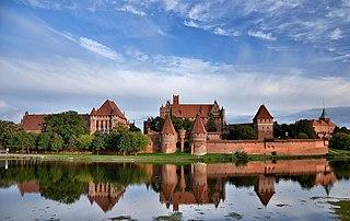 Malbork Castle Teutonic castle in Poland