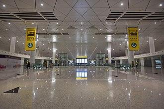 Zhengzhou Xinzheng International Airport - The concourse of the ground traffic center