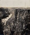 Zimbabwe; the Batoka Gorge. Photograph by Prof. Davis, 1905. Wellcome V0038013.jpg