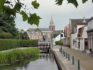Zoetermeer - A street in the old town centre