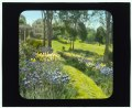 """""""Beechgate,"""" Robert Carmer Hill house, Woodland Avenue, Englewood, New Jersey. View from flower garden to house LCCN2008676097.tif"""