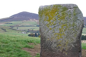 """Craw Stane"" with Tap O'Noth in background - geograph.org.uk - 1163017.jpg"