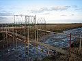 """Irongate"", private bridge in marshland - geograph.org.uk - 603386.jpg"
