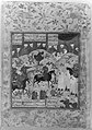 """Meeting of Bahram Gur with a Princess"", Folio from a Shahnama (Book of Kings) MET 113871.jpg"