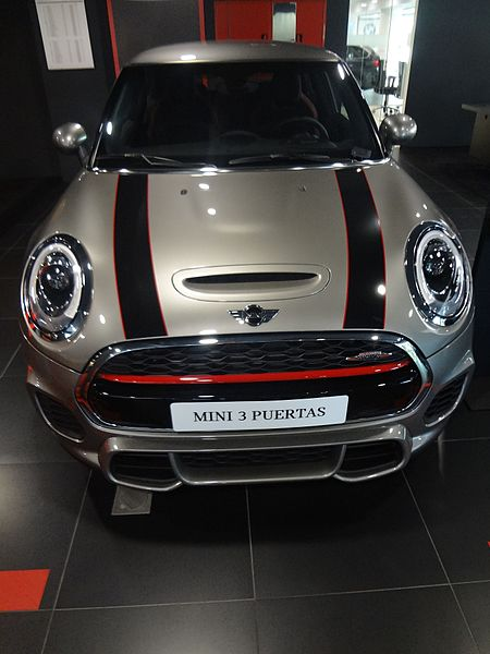 "File:"" (a picture by david adam kess, pic. a1b Mini Cooper, Madrid.jpg"