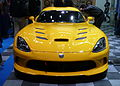 """ 13 Fiat-Chrysler SRT Viper yellow super sportcars at NAIAS 2013.jpg"