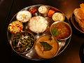 '0' A thali, meal served in India.jpg