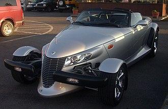 Tom Gale - 2001-2002 Chrysler Prowler (Orange Julep)