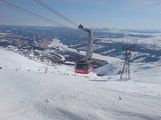 Åre ski resort ski resort in Sweden