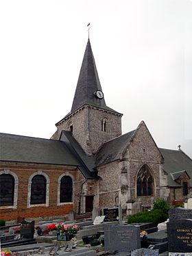 L'église Saint-Denis.